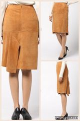 新品グレースコンチネンタル、スウェードスカート 定価45260円