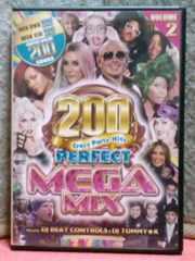 [送料無料] パーフェクト メガミックス VOLUME.2/DVD+CD(200曲収録)