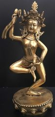 ◆ダンシング・ダーキニー(荼枳尼天)像◆希少 仏教