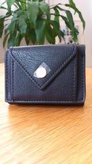 新品タグつき*レガートラルゴ*メール型三つ折りミニ財布/ちい財布
