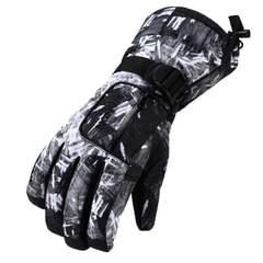 スキー スノーボード グローブ 手袋 ホワイト×ブラック
