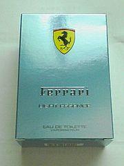 フェラーリ香水の箱