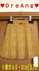 新品【DreAng】リボン付き[プリーツ]スカート定価\18,000円