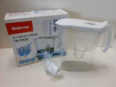 5521◆1スタ◆National/ナショナル ポット型ミネラル浄水器 TK-PA20