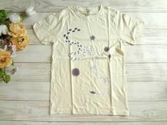 新品 男女兼用 プリント Tシャツ 白 レディースM メンズS