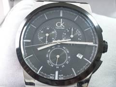 5084/カルバンクライン★K2S37Cスポーツクロノグラフメンズ腕時計定価5万円位