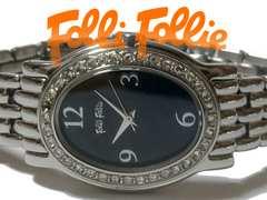 良品 1スタ★フォリフォリ【ジルコニア】美しい腕時計