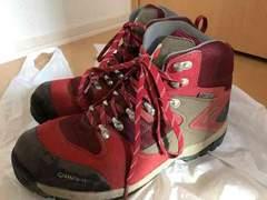 【キャラバン】定価1万5千円☆本格ゴアテックスの登山靴