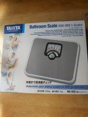 新品 TANITA タニタ チェッカー付ヘルスメーター 最大計量120�s シルバー色 体重計