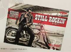 即完売★新品未開封★矢沢永吉B1ポスター STILL ROCKIN'2011