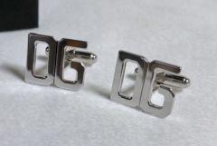 正規美レア ドルチェ&ガッバーナ DGロゴカフス アイコンカフリンクス SV925ボタン ドルガバ