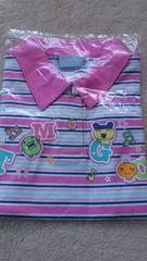 新品☆110�p・たまごっち半袖ポロシャツ ピンク