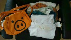 ドラッグストアーズF、4バッグと洋服5着セット全部新品モバペイ送料込み