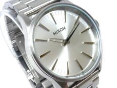 新品正規NIXON SENTRY 38SS ALLSILVER2年保証