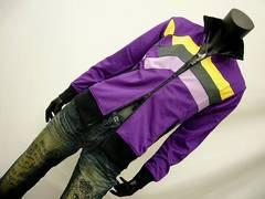 特価 レインボーパッチワークジャージ 紫 M[8860-366]