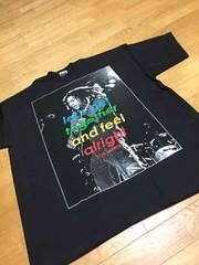 LA直輸入 レゲエボブマリーサイズ3XL黒ブラックTシャツ Z�A�B