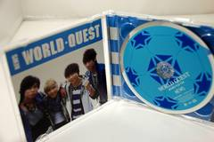 【安!】初回限定DVD付A/NEWS/WORLD QUEST