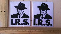 NO.213 アイロンワッペン 2枚セット I.R.S.