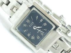 7944/ELLEエル可愛いスクエアデザインブレスレット型レディース腕時計一流ブランド