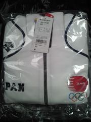 キリン キャンペーン オリンピック 日本代表 応援 スエット ジャケット ホワイト Lサイズ
