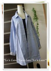 新入荷*4L*羽織にも◎軽めシャツチュニック*大きいサイズ