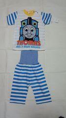 トーマス 腹巻き付き半袖パジャマ 80�p(タグ付き未使用)