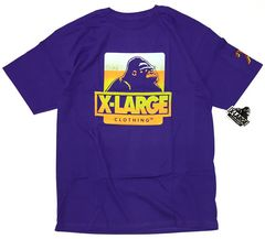 XLARGE Tシャツ 新品 ビールジョッキ 定番ロゴ MUG 特典付きM
