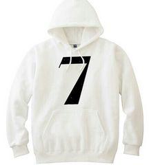 ☆新品〓DESART 7プルオーバーパーカーホワイト