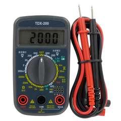 OHM(オーム電機) デジタルマルチテスター 普及型 TDX-200