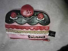 SWIMMER(スイマー)/ポケットティッシュケース/いちごケーキモチーフ/定型内送料込