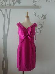 XL ドレスワンピース Jewels ピンク 変形ショルダー 新品 J17259