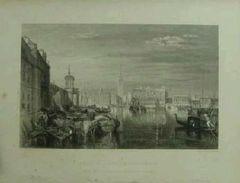絵画 銅版画 ウィリアム・ターナー『ヴェニス大運河』巨匠