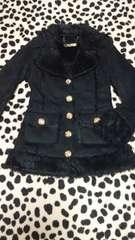 d.i.a☆美品☆金ボタンブラックジャケットコート