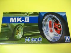 アオシマ 1/24 ザ・チューンドパーツ No.55 マーク�U 14インチ 新品 MK-�U AD-R