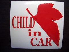 evc_CHILD in CAR NERVステッカー L エヴァンゲリオン