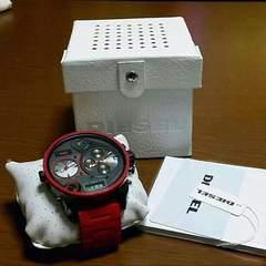 ディーゼル ビッグフェイス時計