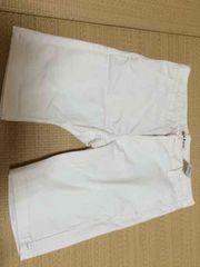 新品 cook jeans クックジーンズ  ハーフパンツ 定価6900円 白 L