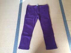 カルバンクライン☆大きいサイズ☆デニムパンツ☆紫☆12