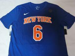 Nike製【DRI FIT】NY KNICKS ポルジンギス ナンバ-T US XXL