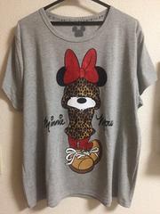 ミニーマウス  半袖Tシャツ 大きいサイズ