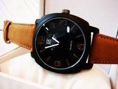 艶消しブラックが渋い大人のミリタリー腕時計★Black Oceans