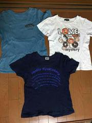 MサイズTシャツ3点!白Tシャツは1回使用の美品!
