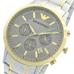 エンポリオ アルマーニ クロノ クオーツ メンズ 腕時計 AR11076
