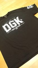 LA直輸入!DGK 黒ブラック サイズ5XLXXXXXL skate border