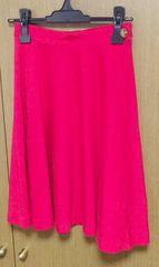 ヴィヴィアンLED LABEL赤スカート  サイズ1