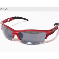 FILA(フィラ)スポーツサングラス メタリックレッドSF8826J-965 UVカット