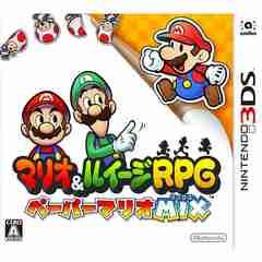 3DS》マリオ&ルイージRPG ペーパーマリオMIX [174000599]