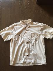 tenderloin テンダーロイン半袖シャツ 生成 美品