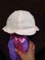 コムサイズムのベビーピンクの帽子   44cm
