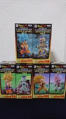 ドラゴンボールZワールドコレクタブルフィギュア〜BATTLEOFSAIYANS〜vol.3フルコンプ
